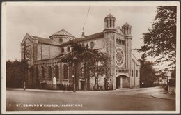 St Osmund's Church, Parkstone, Dorset, 1931 - RP Postcard - England