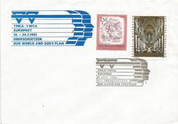 Österreich Austria 1985 Oberschützen YMCA YWCA Meeting Special Handstamp Cover - 1981-90 Brieven