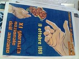 XI 11° GIORNATA DELL'ANZIANO 1969ILLUSTRATA N1969  GV3862 PIEGA - Publicité