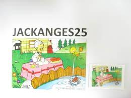KINDER PUZZLE LOONEY TUNES K98 N 77 1997 + BPZ - Puzzles