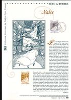 2017, DOCUMENT OFFICIEL DE LA POSTE: Fete Du Timbre, La Valse - Documents De La Poste