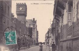 CPA 76 @ DIEPPE @ La Rue De Sygogne En 1910 - Dieppe