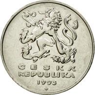 Monnaie, République Tchèque, 5 Korun, 1993, TB+, Nickel Plated Steel, KM:8 - Czechoslovakia