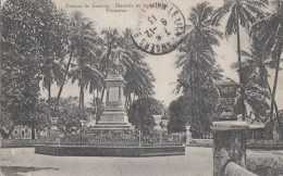 Mexique - Mexico - Veracruz - Estatue De Zamora - Alameda De Los Cocos - 1913 - Mexiko