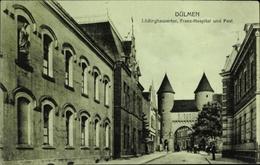 Cp Dülmen In Nordrhein Westfalen, Partie Am Lüdinghauser Tor, Franz Hospital, Post - Allemagne