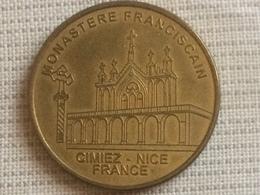 Jeton Touristique NICE Cimiez   Médailles Et Patrimoine (voir Description) - Turistici