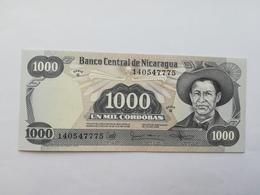 NICARAGUA 1000 CORDOBAS 1985 - Nicaragua