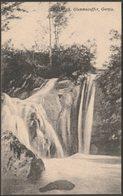 Waterfall, Glenmacoffer, Gortin, Tyrone, C.1905-10 - W J Hamilton Postcard - Tyrone