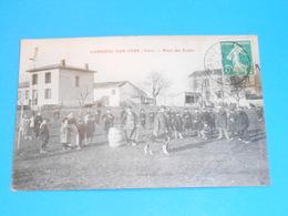 81 ) Cahuzac-sur-vère - Place De L'ecole : Année 1909 : EDIT : Vaysse - Other Municipalities