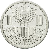Monnaie, Autriche, 10 Groschen, 1990, Vienna, TTB, Aluminium, KM:2878 - Autriche