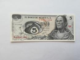 MESSICO 5 PESOS 1972 - Messico