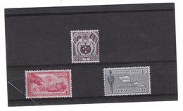 EDY 287 - SAMOA SISIFO 1958, Tre Valori Diversi  ***  MNH - Samoa