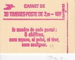 Carnet  2274-C4a Gomme Mate Conf.8 Grosse Cote - Carnets