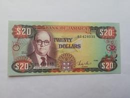 GIAMAICA 20 DOLLARS 1986 - Giamaica