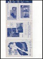 DEPLIANT    L ARMEE DU SALUT  AU TRAVAIL - Vieux Papiers