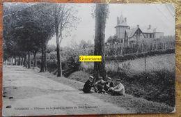 Vouziers : Château De La Corre : Route De Sainte-Ménehould - 1910 - Vouziers