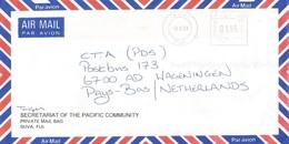 """Fiji 2003 Suva Meter Hasler """"Mailmaster"""" H017 EMA Cover - Fiji (1970-...)"""