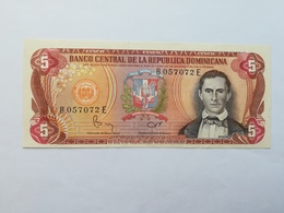 REPUBBLICA DOMINICANA 5 PESOS - Dominicaine