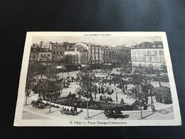 PAU Place Georges Clemenceau - 1942 - Pau