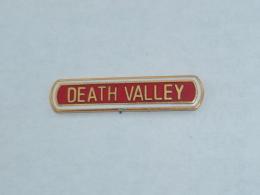 Pin's VALLEE DE LA MORT, U.S.A. - Villes
