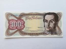 VENEZUELA 100 BOLIVARES 1979 - Venezuela