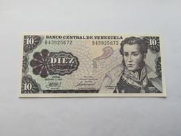 VENEZUELA 10 BOLIVARES 1981 - Venezuela