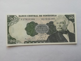 VENEZUELA 20 BOLIVARES 1984 - Venezuela