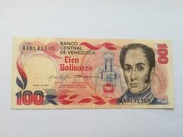VENEZUELA 100 BOLIVARES 1980 - Venezuela