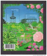 Bloc N° 4384, Jardins Des Plantes - Blocks & Kleinbögen