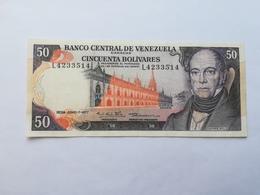 VENEZUELA 50 BOLIVARES 1977 - Venezuela