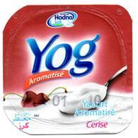 "Opercule Cover Yaourt Yogurt "" Hodna "" Yog Cerise Cherry Yoghurt Yoghourt Yahourt Yogourt - Opercules De Lait"