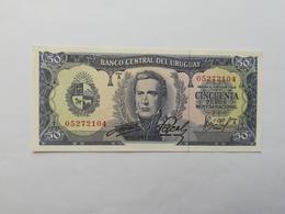 URUGUAY 50 PESOS 1967 - Uruguay