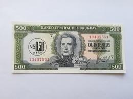 URUGUAY 0,50 PESOS ON 500 PESOS  1975 - Uruguay