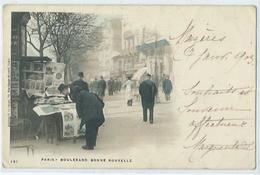 Paris Boulevard Bonne Nouvelle - Frankreich