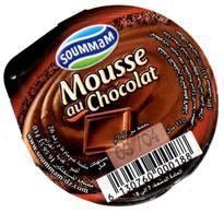 "Opercule Cover Crème Dessert "" Soummam "" Mousse Au Chocolat Opercules - Milk Tops (Milk Lids)"