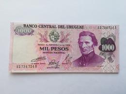 URUGUAY 1000 PESOS 1974 - Uruguay