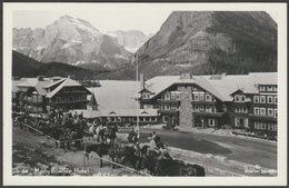 Many Glacier Hotel, Swiftcurrent Lake, Montana, C.1950 - Glacier Studio RPPC - United States