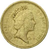 Monnaie, Grande-Bretagne, Elizabeth II, Pound, 1985, TB, Nickel-brass, KM:941 - 1971-…: Dezimalwährungen