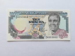 ZAMBIA 10 KWACHA 1989 - Zambia
