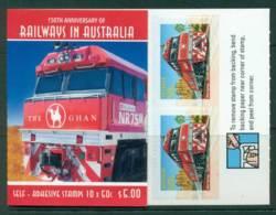 Australia 2004 $5.00 Railways In Australia B264 Philatelic Booklet Lot26124 - 2000-09 Elizabeth II
