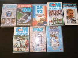 LOT 8 K7 CASSETTE 066 FOOT FOOTBALL OM OLYMPIQUE DE MARSEILLE  K7 - Football