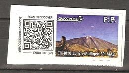 Suisse Swiss Post - PP - CH 8010 Zürich-Müllingen - Scan To Discover - Entdecke Uns - Scannez Pour Découvrir - Schweiz