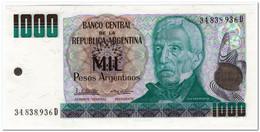 ARGENTINA,1000 PESOS,1984,P.317b,UNC - Argentina