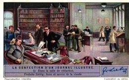 1294 La Confection D'un Journal Illustre  -  HET VERVAARDIGEN VAN EEN TIJDSCHRIFT  ( Krant - Gazet - Weekblad ) - Liebig