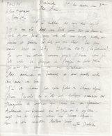 PEINTRE : ARMAND DALIAN . ( 1924/2000 ) . LETTRE PLUS ENVELOPPE  DECOREES . 1973 . - Autographes