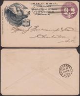 USA-1893 Entier PUB Cochon (5G25781) DC0070 - Ohne Zuordnung