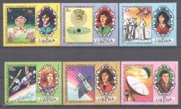 Liberia 1973 Yvert 623-28, 500th Ann. Birth Nicolas Copernicus- MNH - Liberia