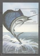 Liberia 1999 Yvert BF 251, Sea Fauna, Sailfish - MNH - Liberia