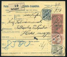 SÁRBOGÁRD 1916. Csomagszállító Kápolnára Küldve - Used Stamps