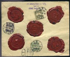 ARAD 1908. Szép értéklevél Kolozsvárra Küldve  /  ARAD 1908 Nice Money Letter To Kolozsvár - Used Stamps
